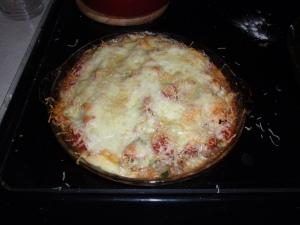 Easy Deep Dish Pizza