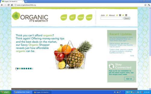 organic worth it food family farm usda